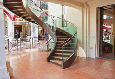 escalier inox balance 2