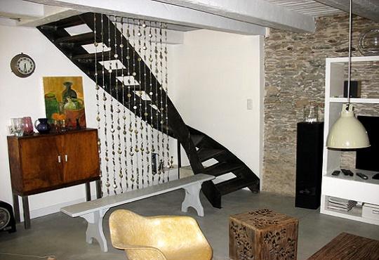 escalier inox balance